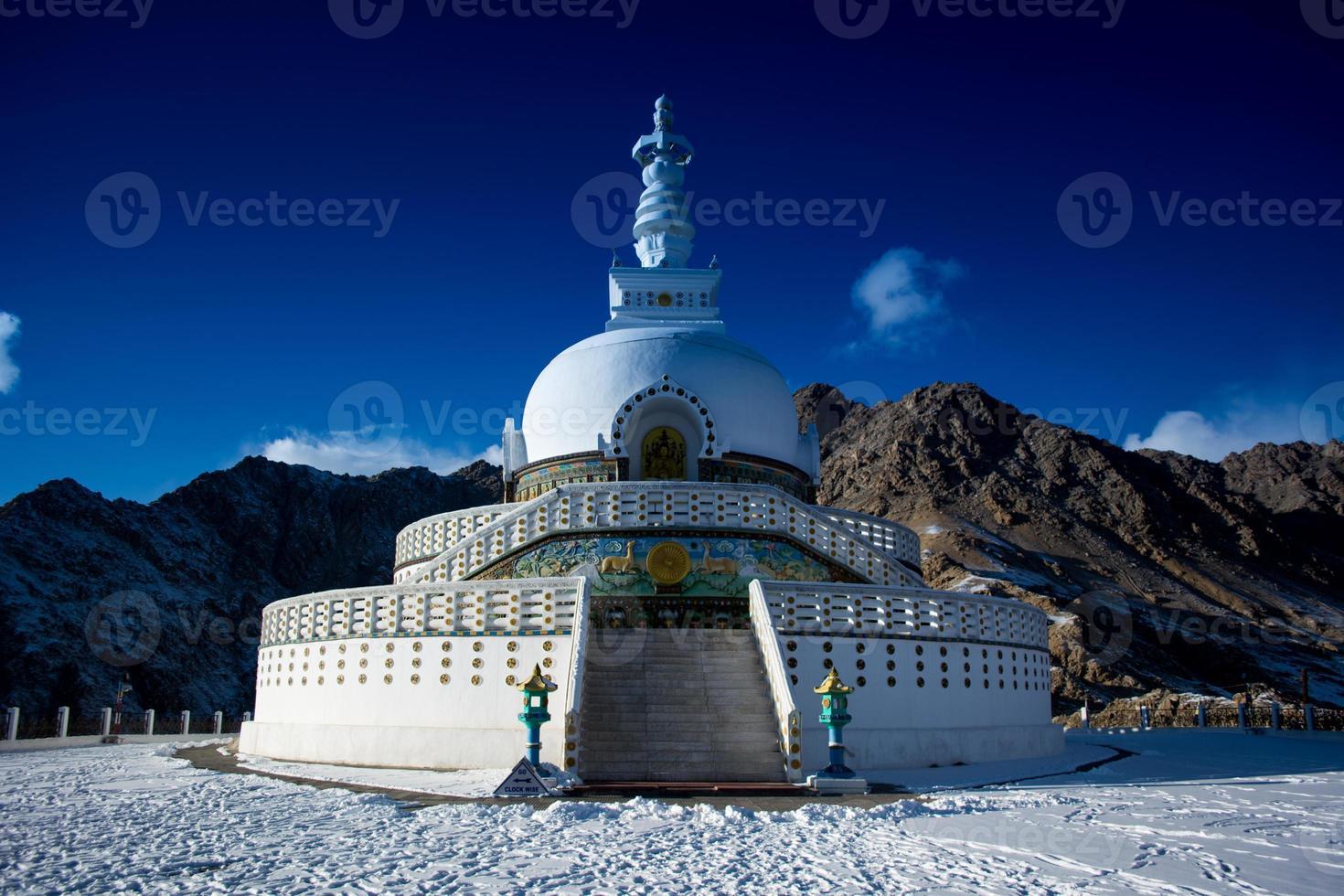 Shanti Stupa photo