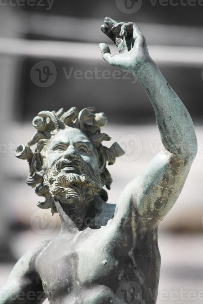 Statue close-up photo