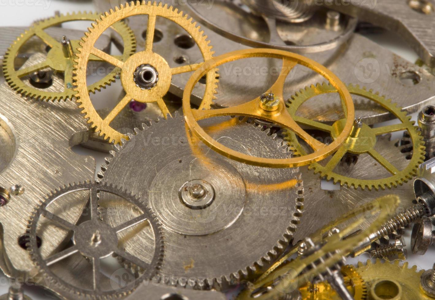 Clockwork close up photo
