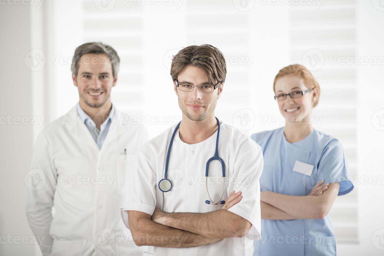 medical team portrait photo