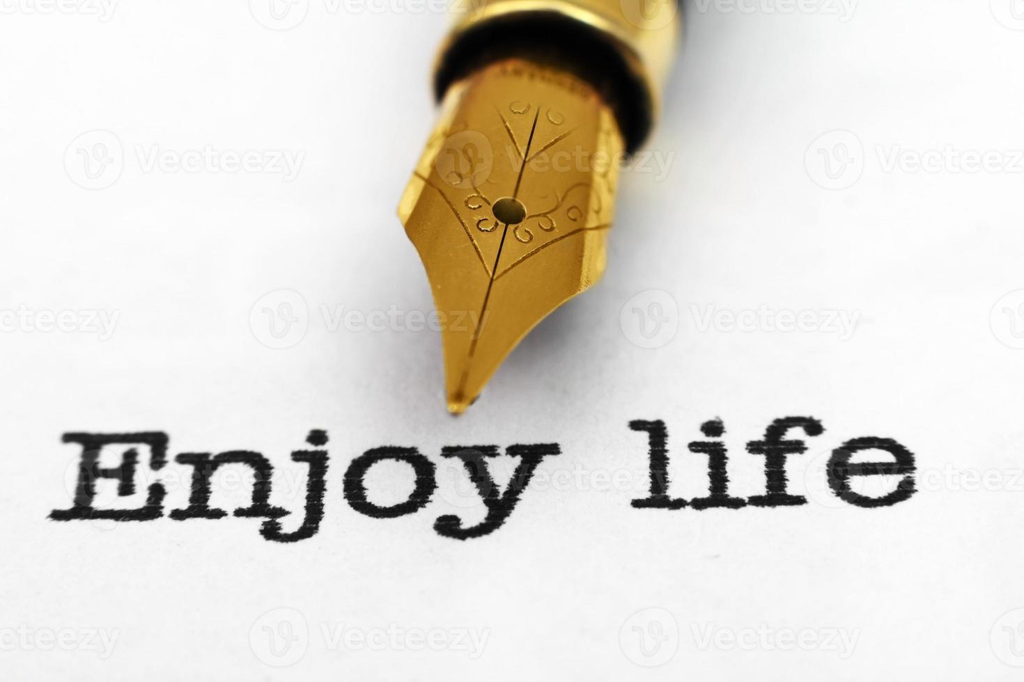 Enjoy life photo