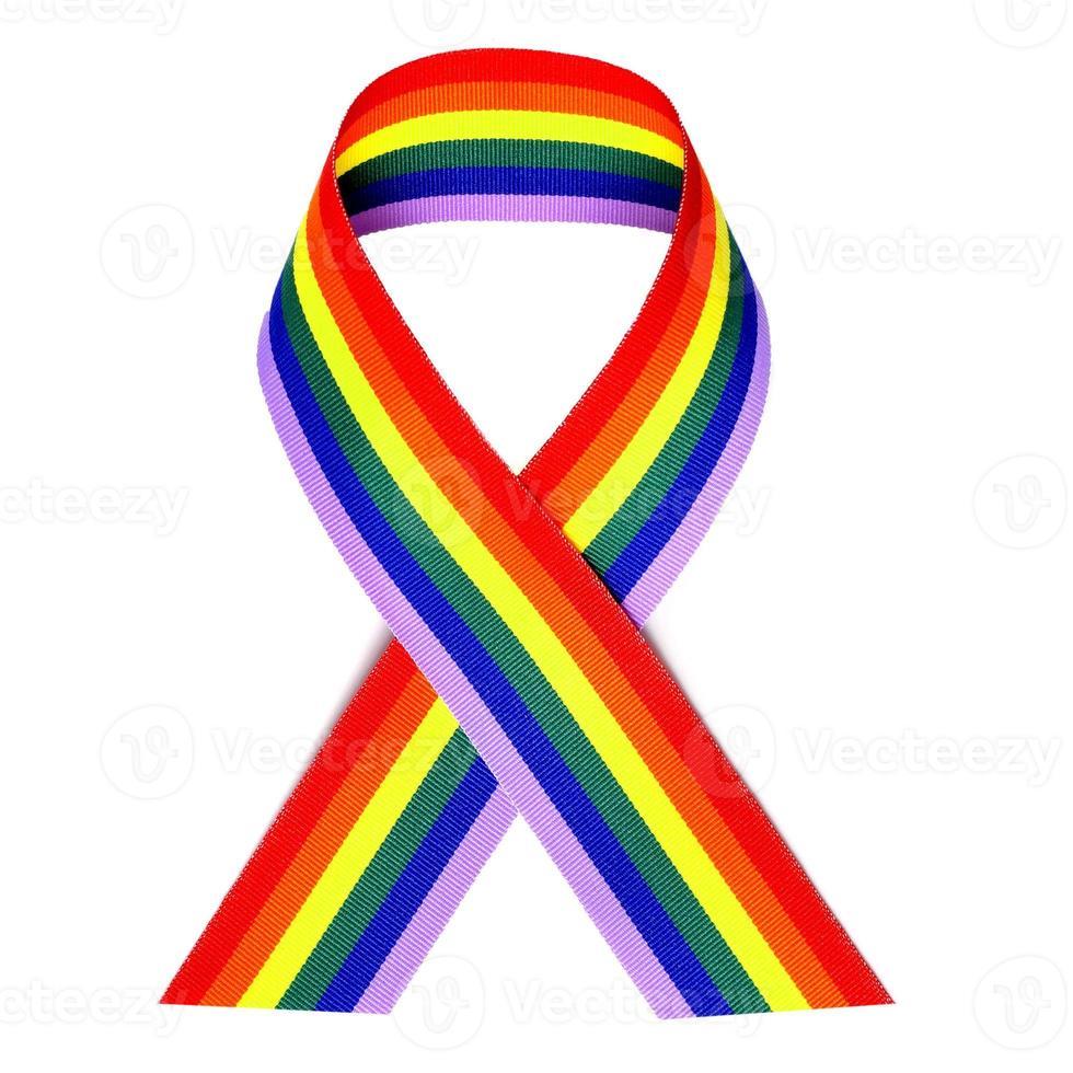cinta del arcoiris foto