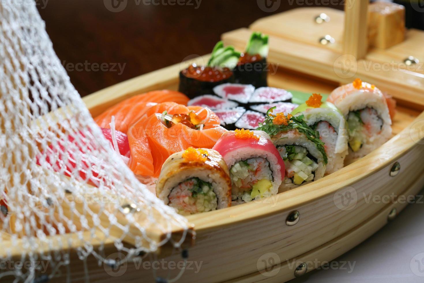 sushi japonés foto
