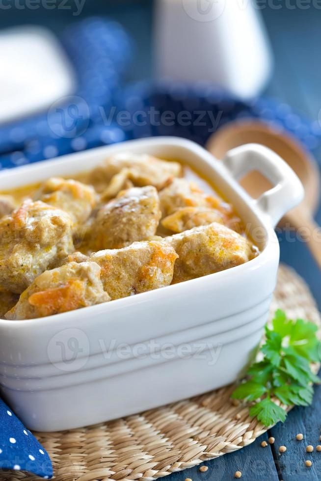 Meat stew photo