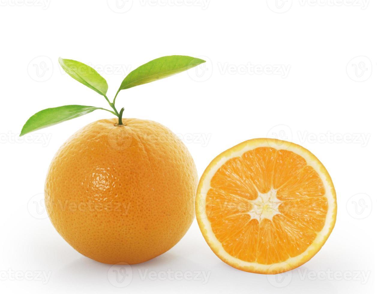 rodaja de naranja foto