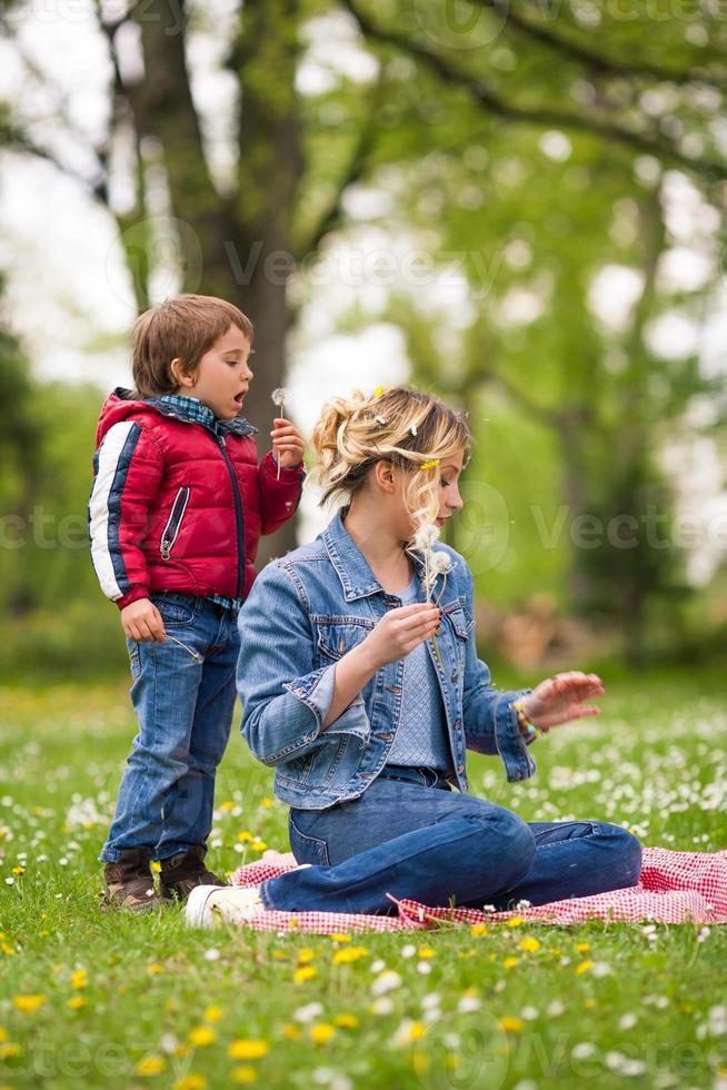 speeltijd in de natuur foto