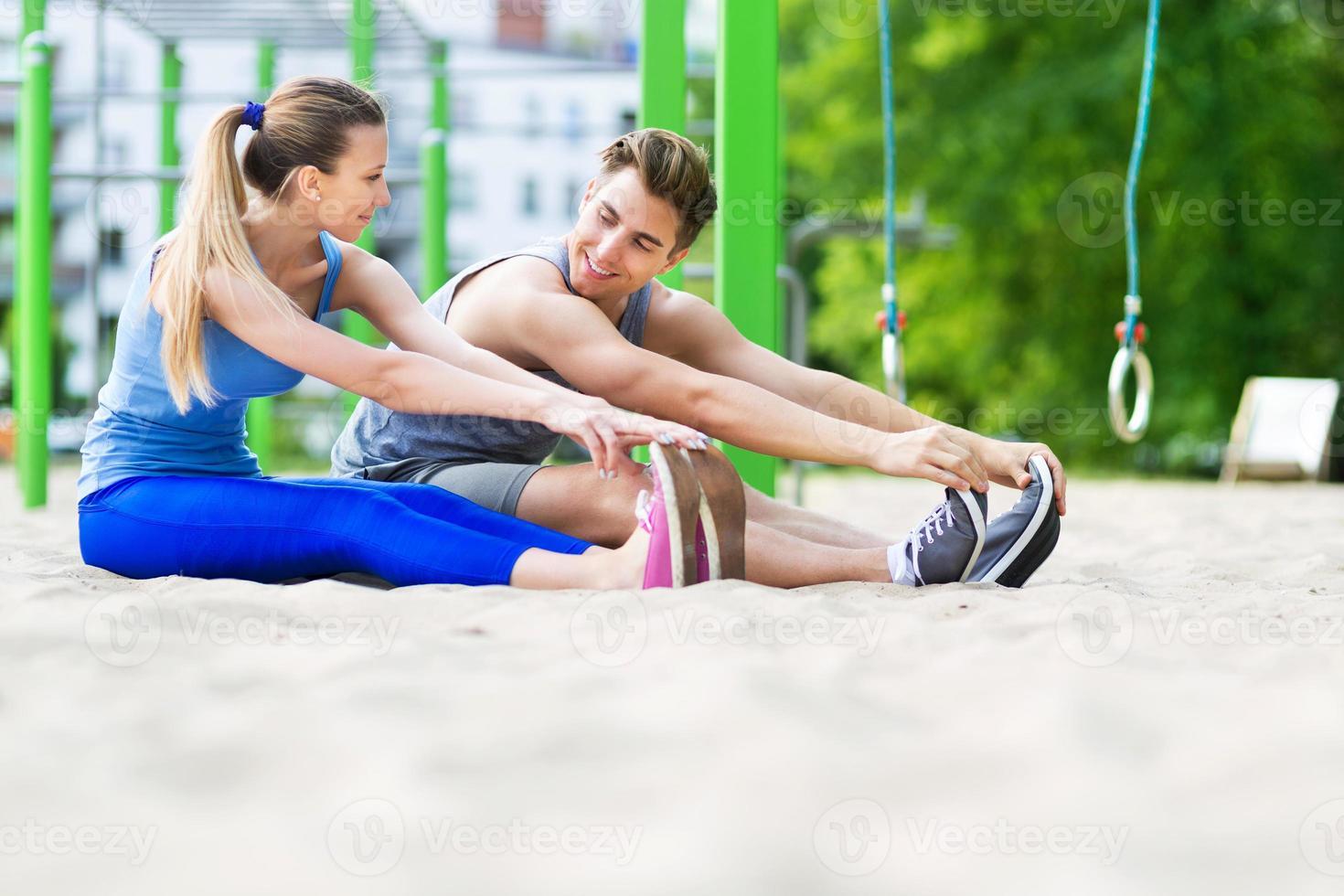 openlucht gym foto