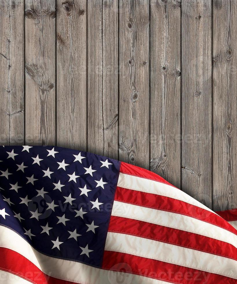 bandera estadounidense foto