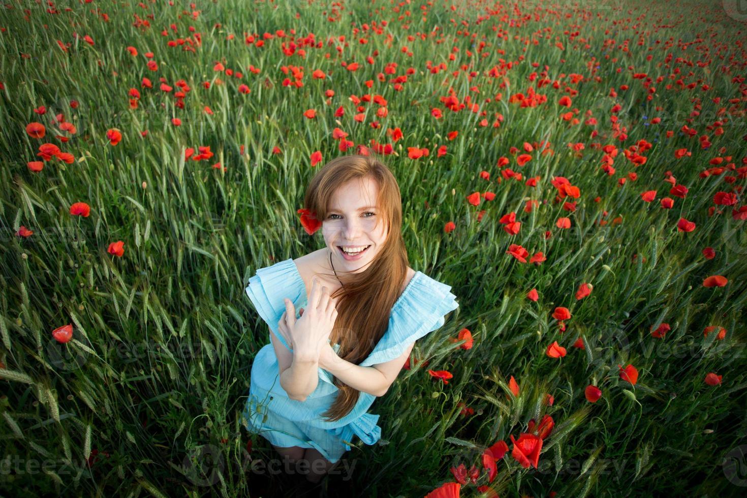 Girl's smile photo