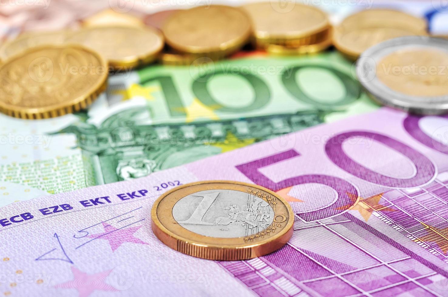 euro coins photo