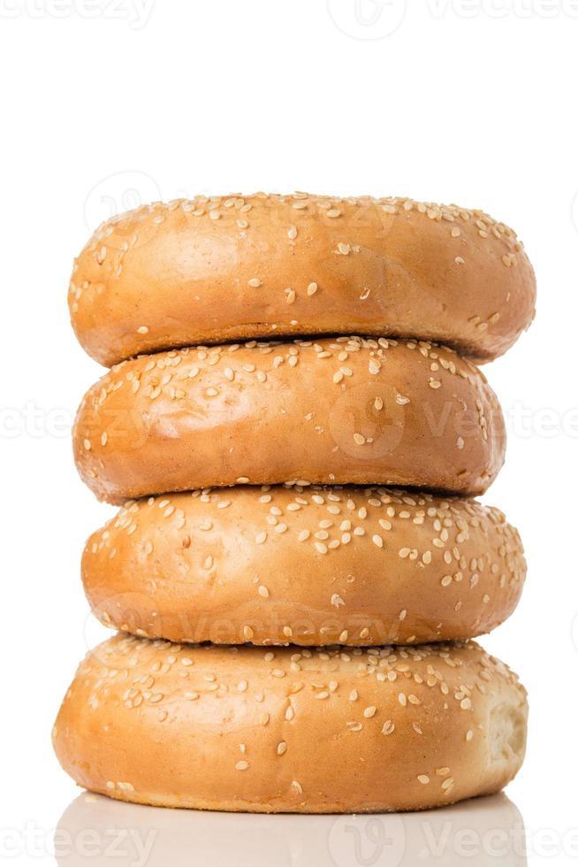 Sesame Bagels photo
