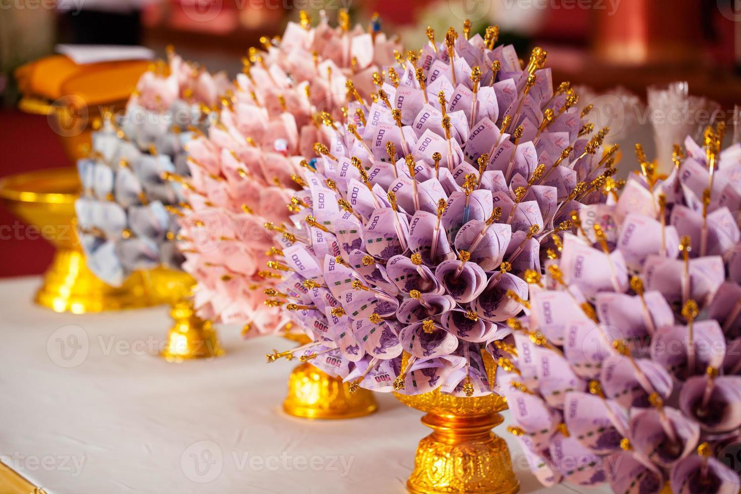 flor de billete foto