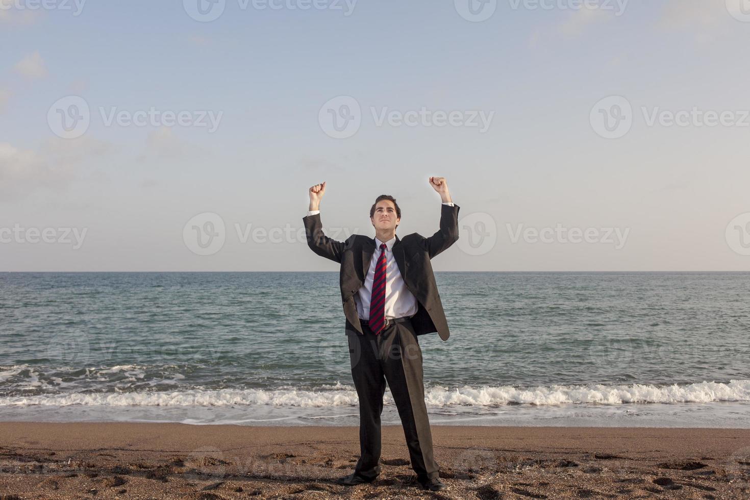Successfull Businessman photo