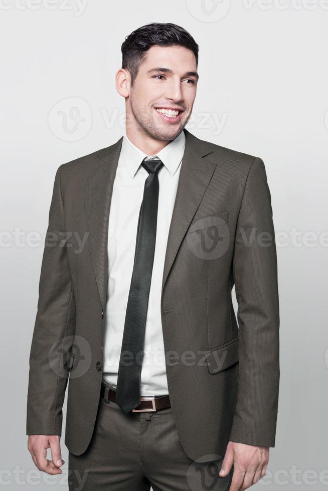empresario sonriendo foto