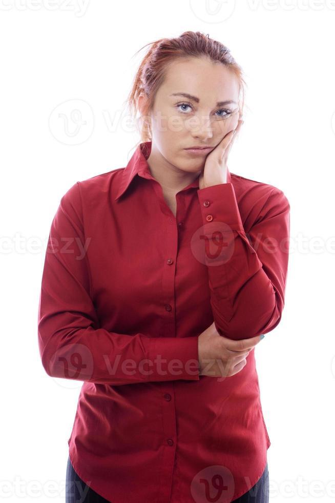 mujer de negocios joven foto