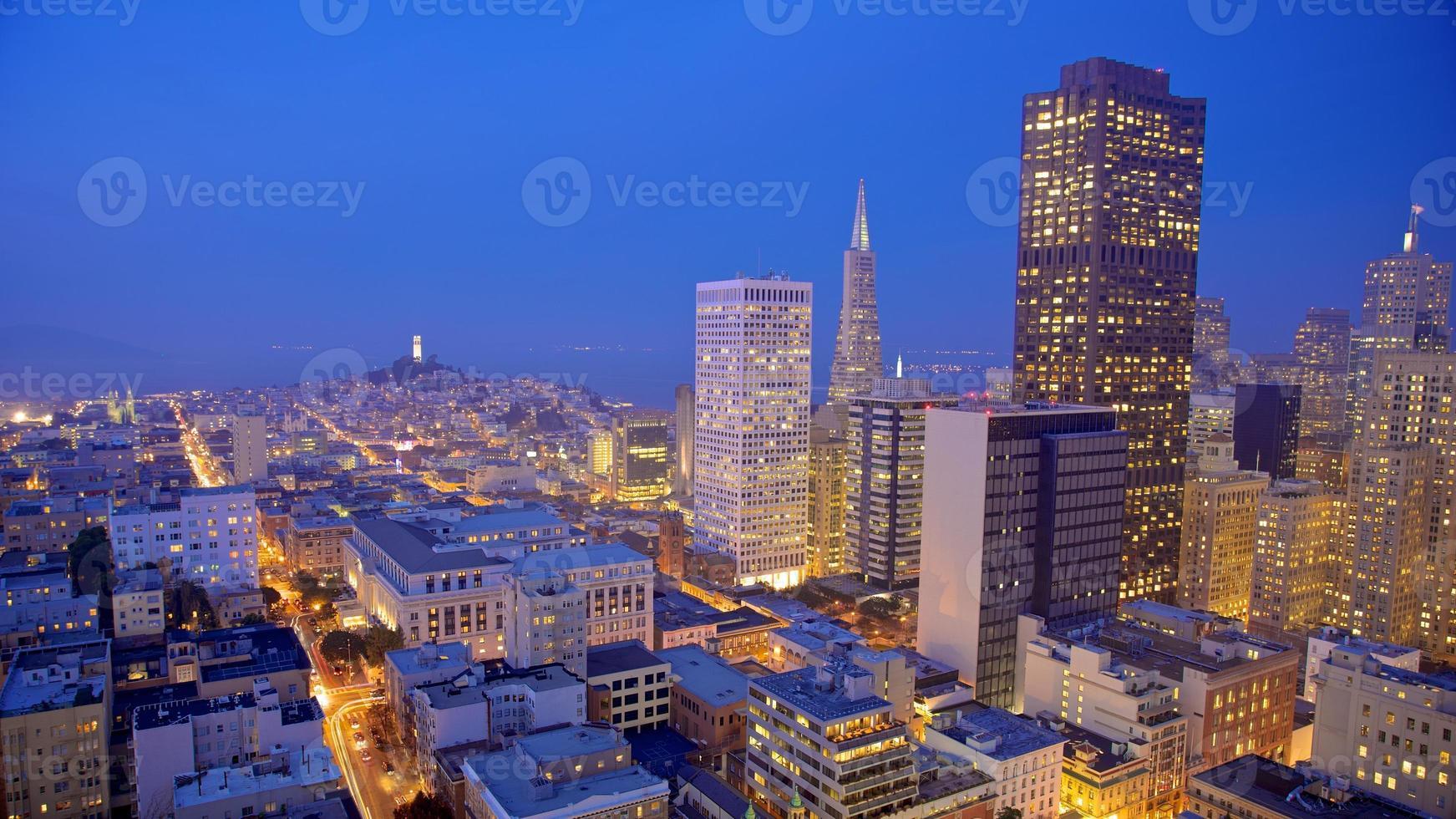 San Francisco Skyline at Night photo