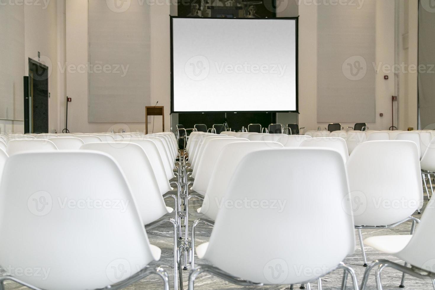 sala de conferencias foto