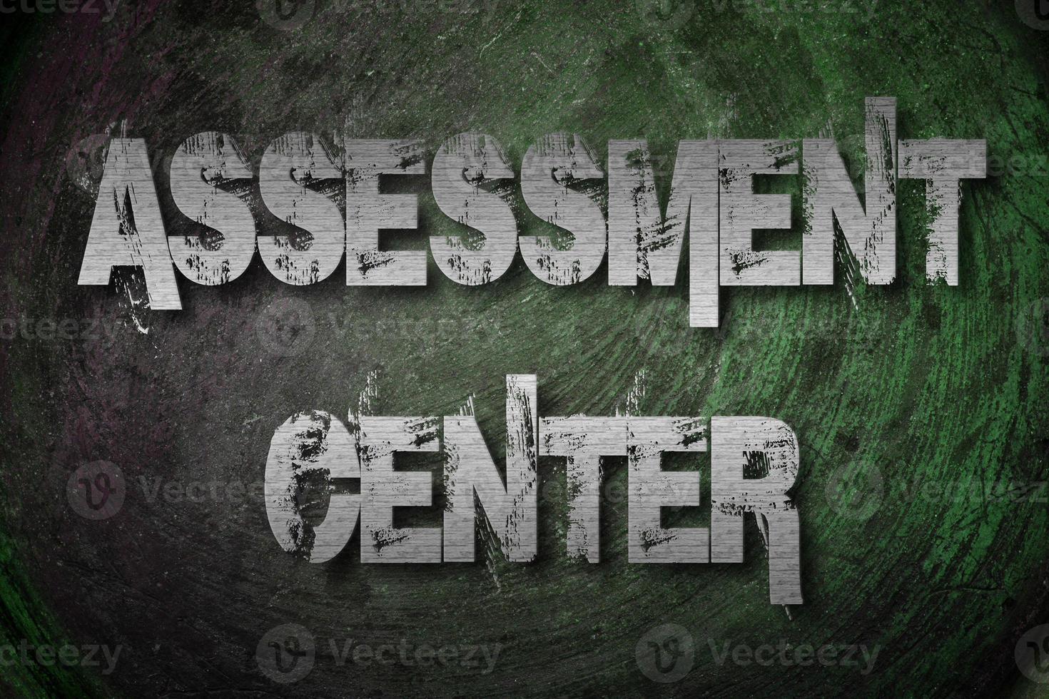 Assessment Center Concept photo