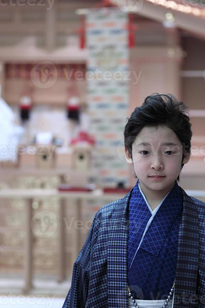 chico japonés foto