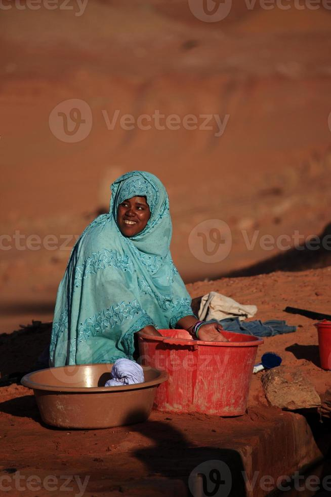 Waschfrauen in Afrika photo