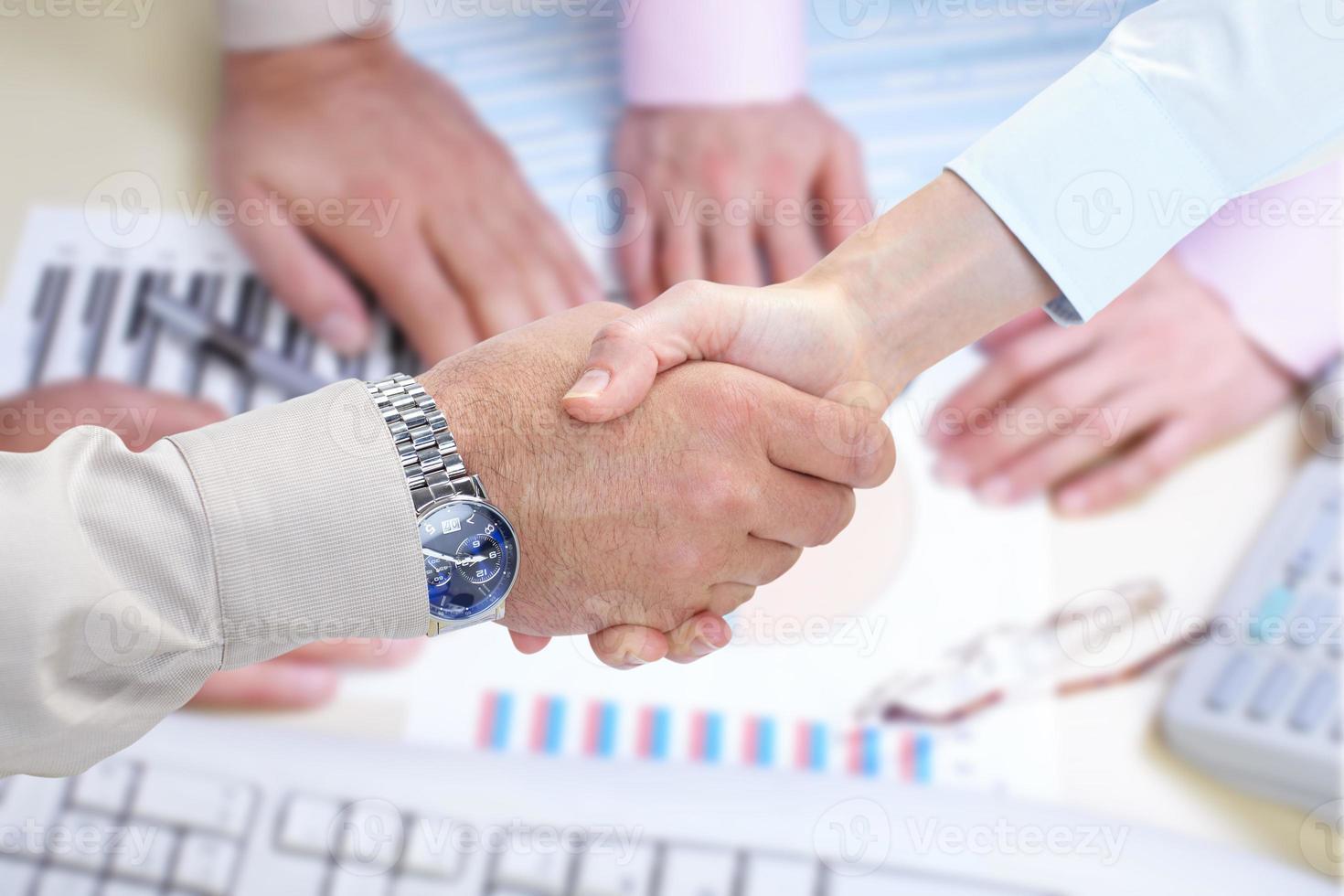 Business handshake photo