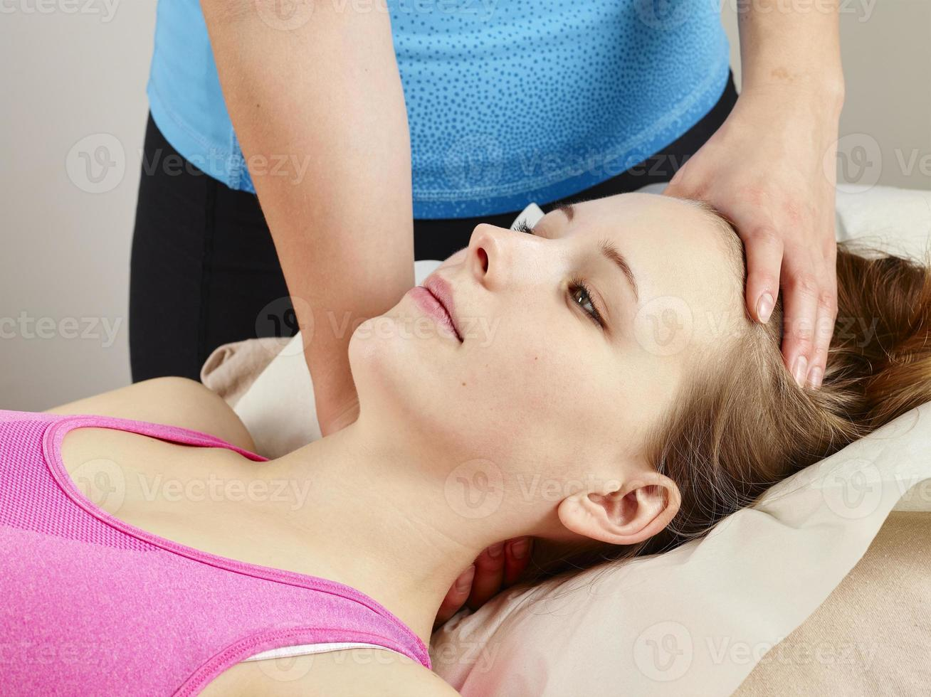 Osteopathy treatment photo