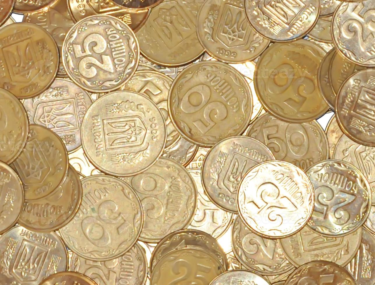 gold coins as a background photo