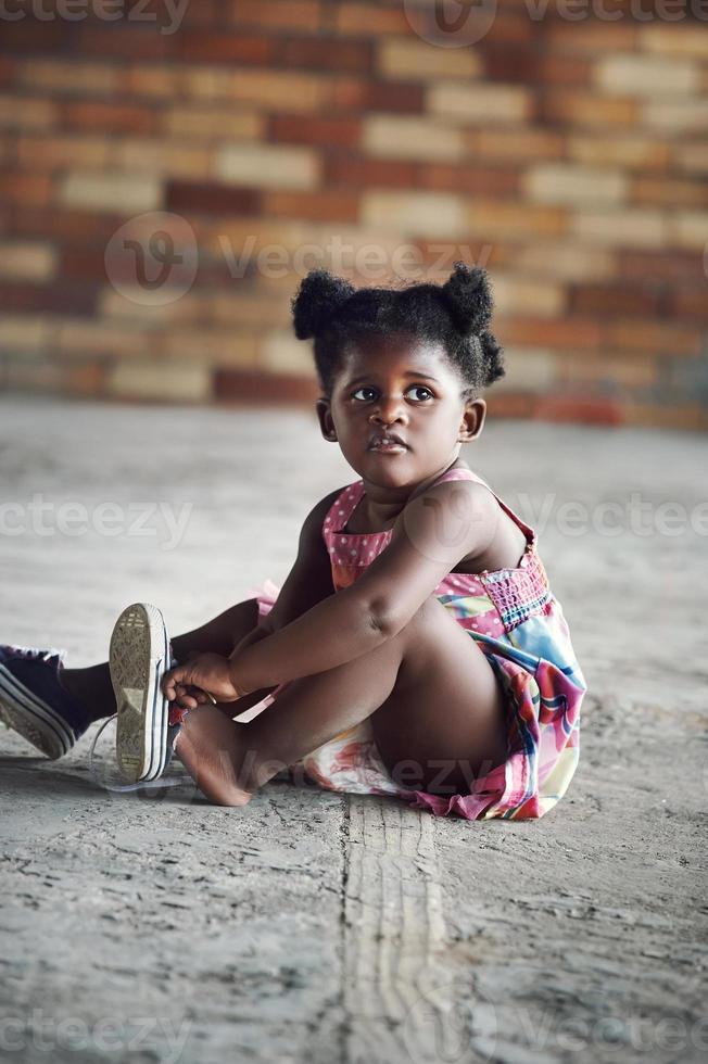 Rural african child photo