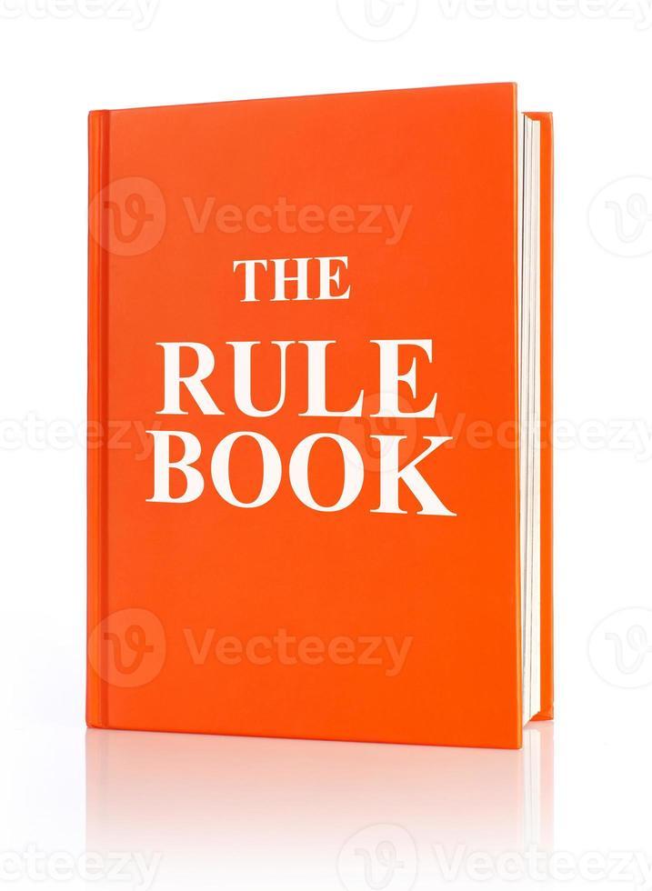 o livro de regras foto