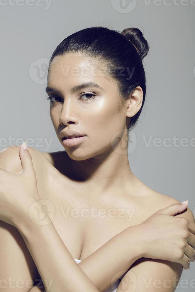 beautiful healthy woman photo