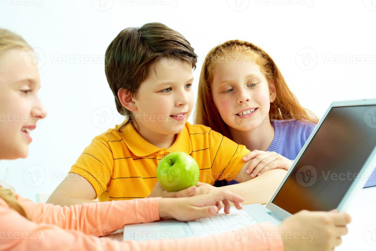 Pupils at lesson photo