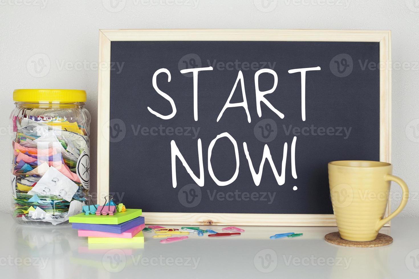 Start Now photo