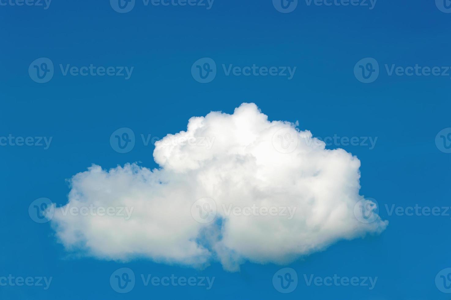 Cloud on The Blue Sky photo