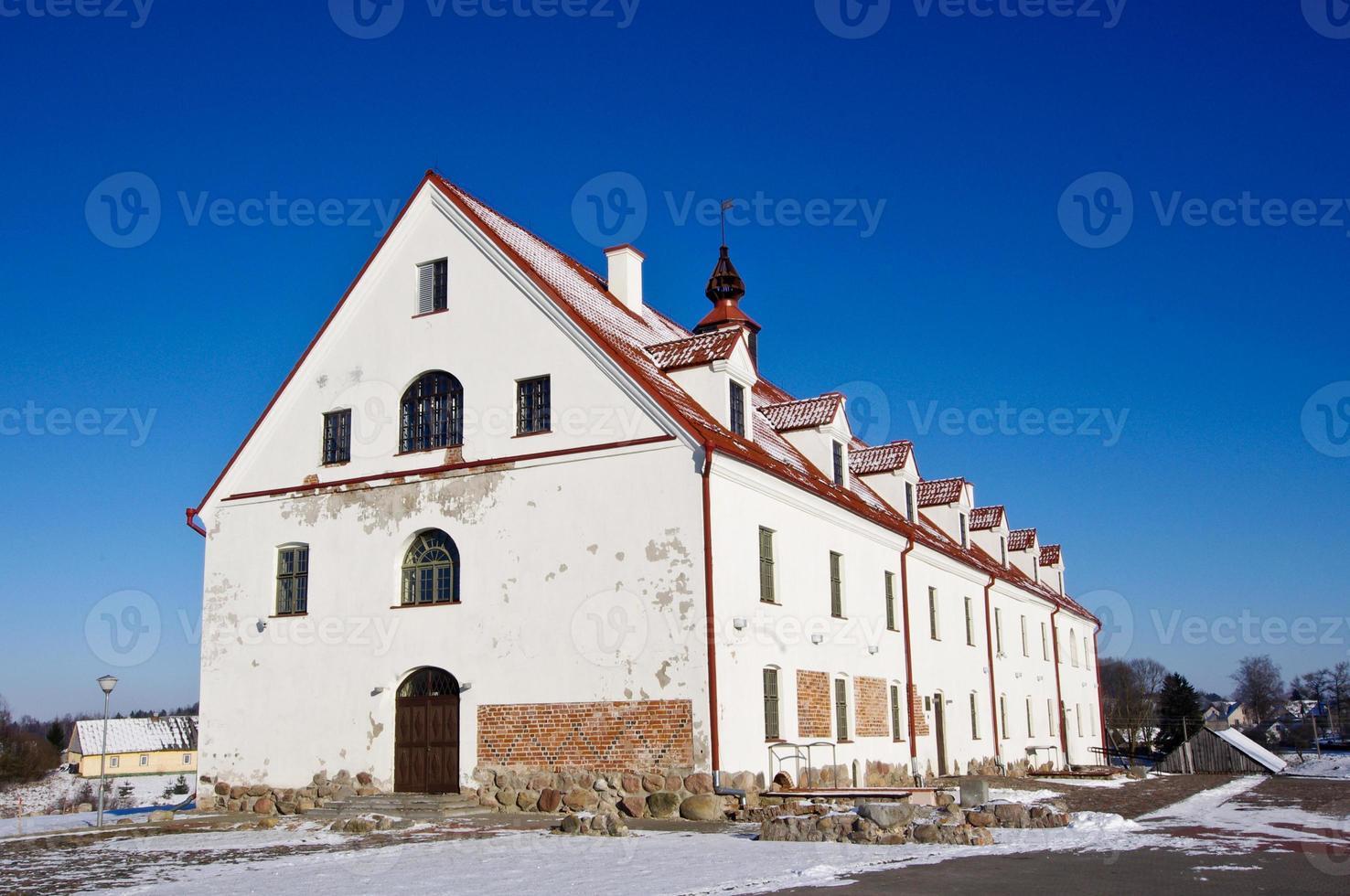 Cultural center in Kraziai, Lithuania photo