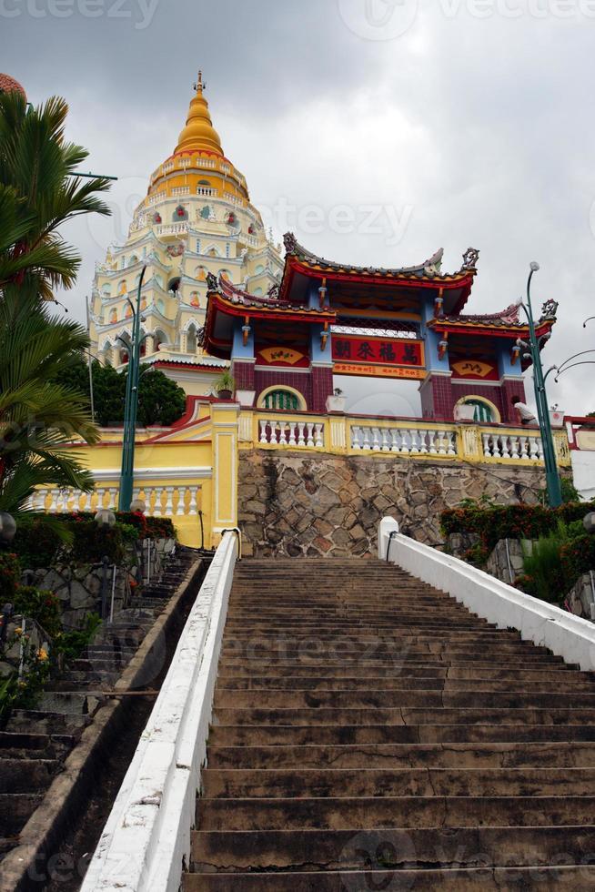Templo Kek Lok Si, Penang, Malasia foto