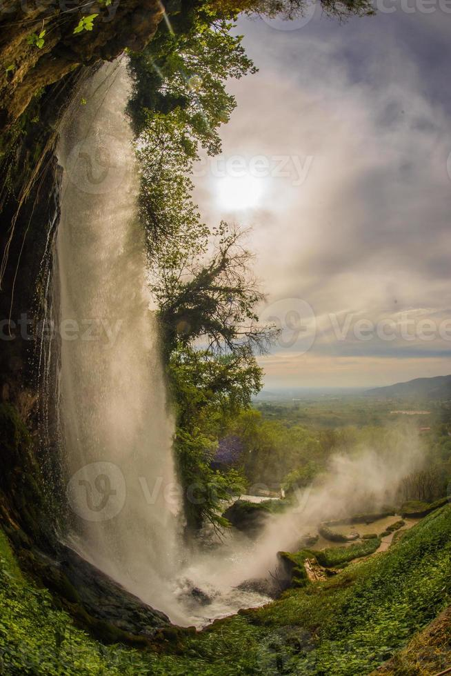 Stunning waterfalls in Edessa, northern Greece photo