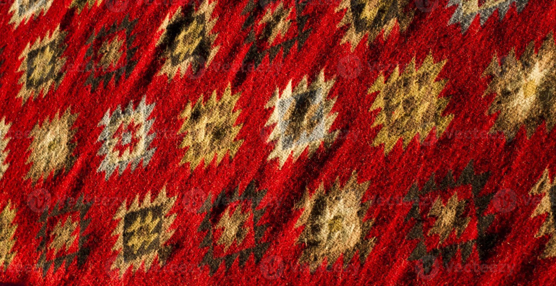 alfombra colorida foto
