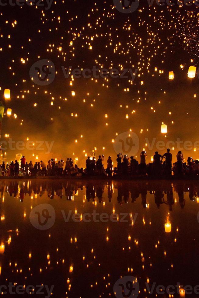 yeepeng, festival de fuegos artificiales foto