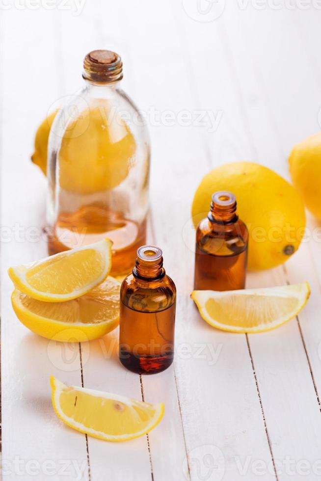 Essential aroma oil photo
