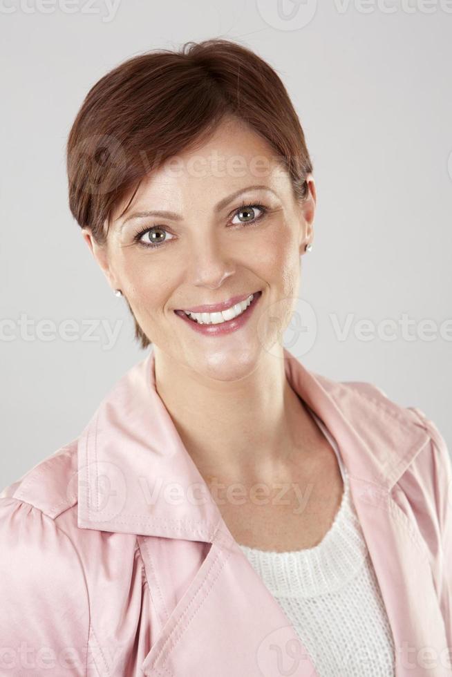 mujer caucásica foto
