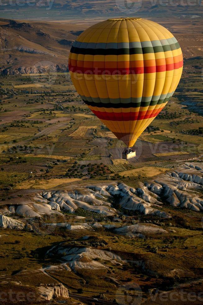 Hot Air Balloons Over Cappadocia, Turkey photo