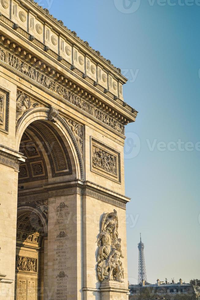 Arc de Triomphe in Paris photo