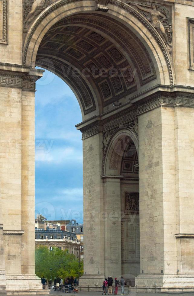 Arc de Triomphe - Paris photo