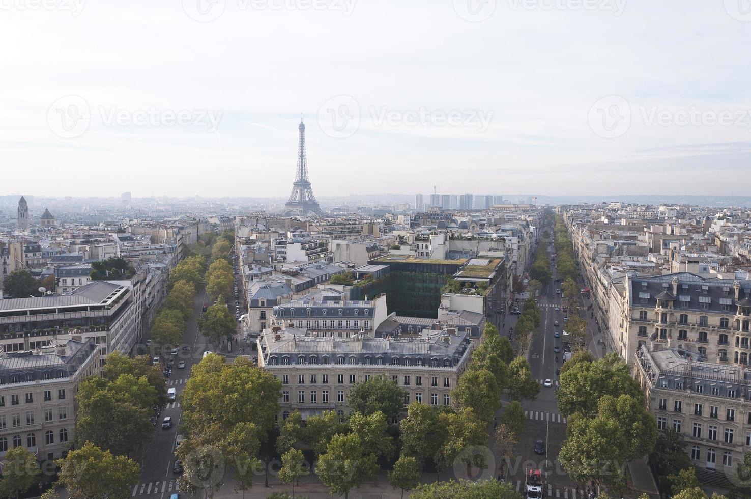 calle paris foto