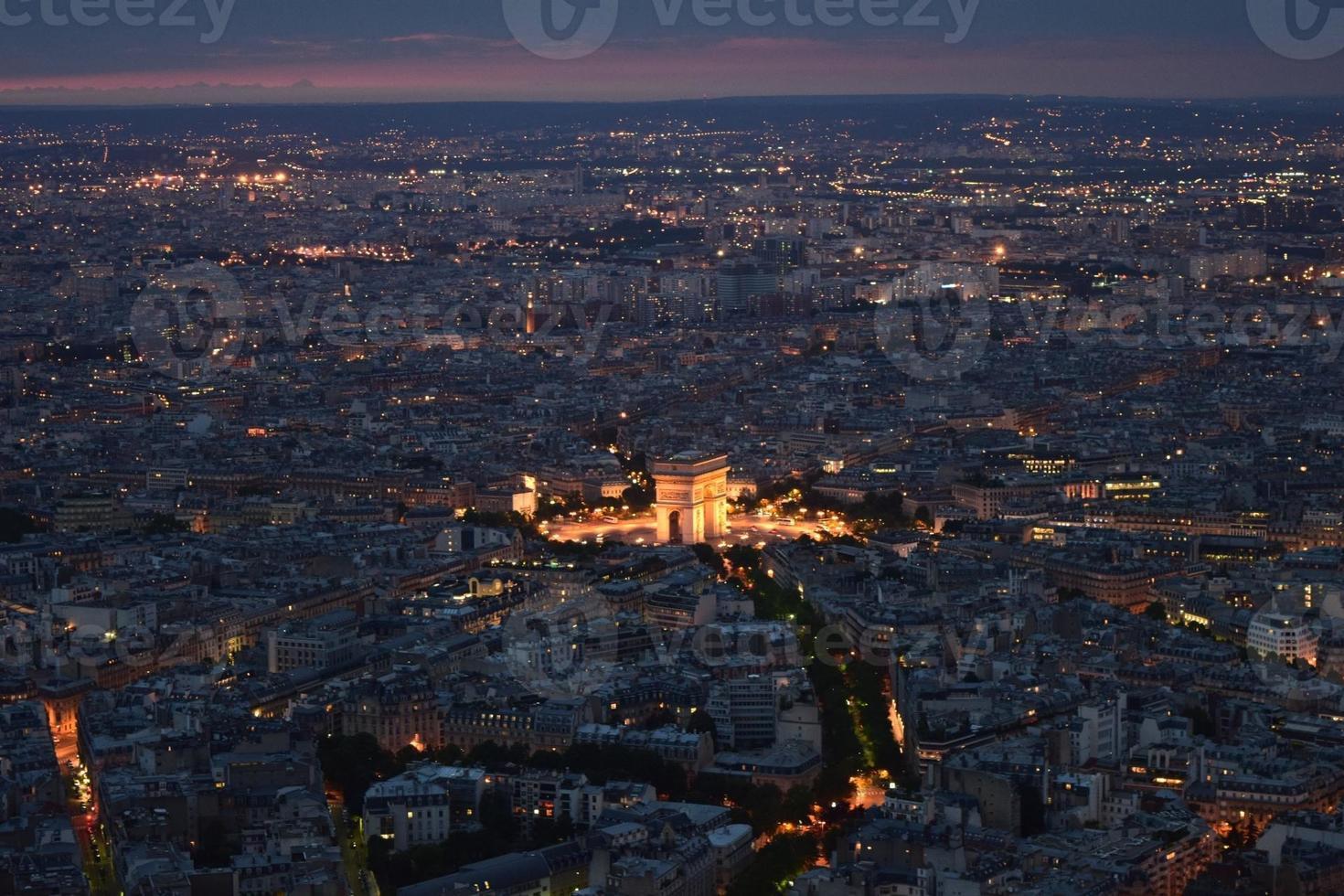 Illuminated Paris 2 photo