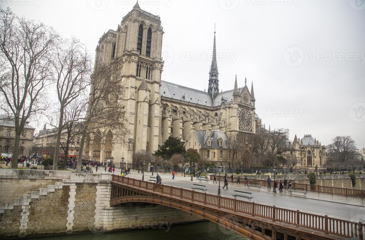 France - Paris - Notre Dame photo