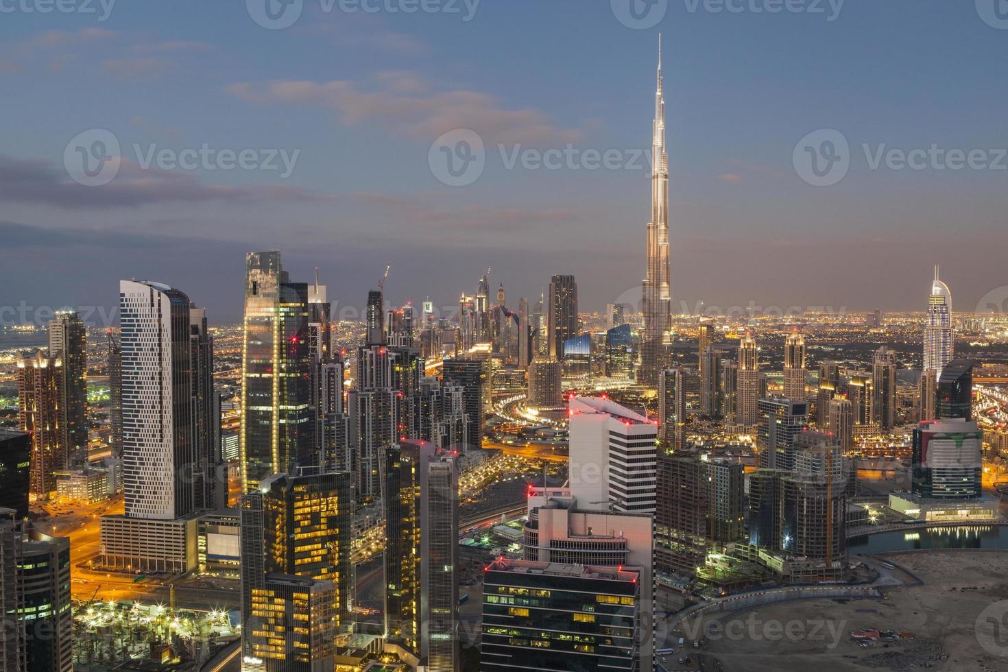 Dubai Cityscape. photo