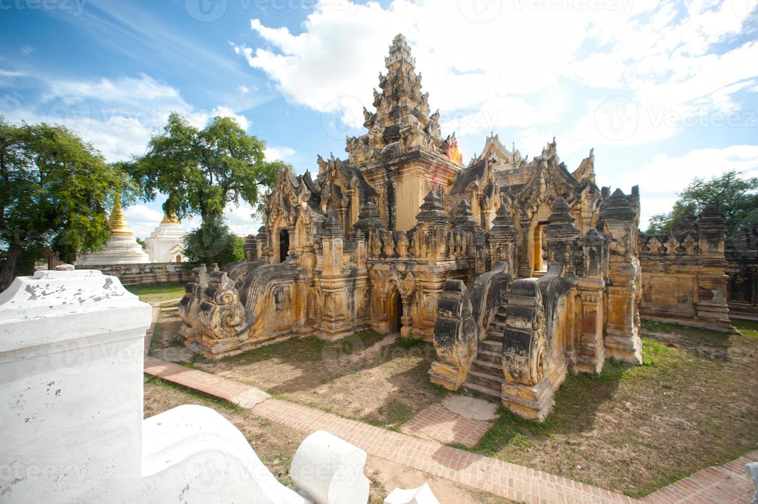 Maha Aung Mye Bon Zan Monastery. photo