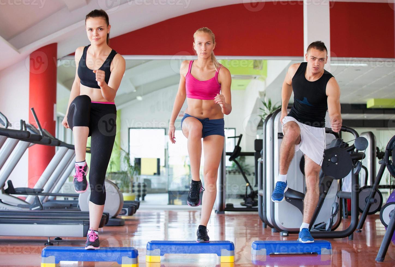 gimnasio de ejercicio foto