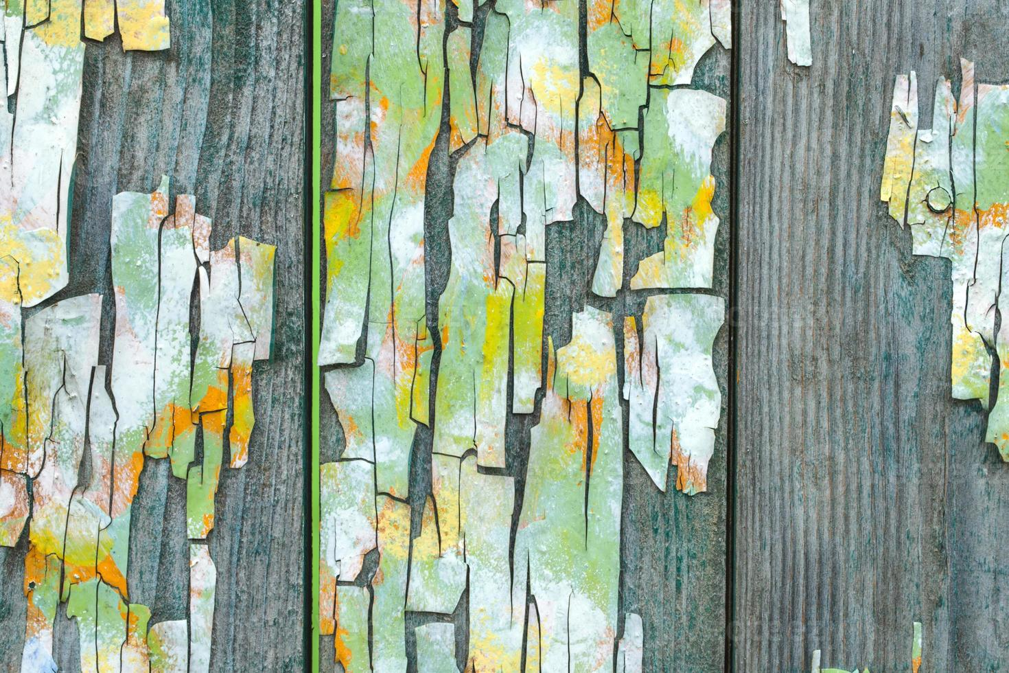 textura de painéis de madeira do grunge foto